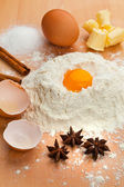 Ingredients for baking. — Stock Photo