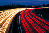 Light line of highway — Stock fotografie