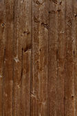 Wooden wall wooden slats as background — Stock Photo