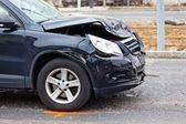 Accrochage dans un accident de voiture — Photo