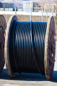 Cable of a power line — Stock Photo