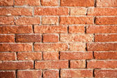 A brick wall for background — Stock Photo