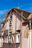 Old house is being renovated — Stock Photo