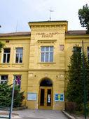 Elementary school and secondary school — Stock Photo