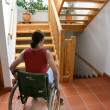 Handicapped womin wheelchair — Stock Photo #8180722