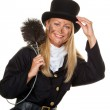 Chimney sweep. good luck on new year's eve — Stock Photo #8188620