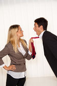Bullying in the workplace. — Stock Photo