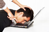 Bullying at work — Stock Photo