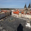 Stock Photo: Prague, old town square, cityscape