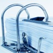 File folder with documents - Stockfoto