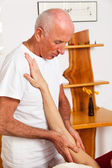 Rest and relaxation through massage — Stock Photo