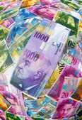 Swiss franc — Stock Photo