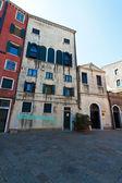 Italy, venice. ghetto area, synagogue — Stock Photo