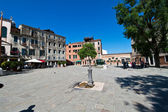Italy, venice. ghetto area — Stock Photo