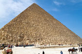 Egypt, giza, cheops pyramid — Stock Photo