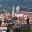 Stock Photo: Prague, st. nicholas church