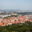 Stock Photo: Prague, overview of the observatory from