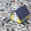House on dollar bills — Stock Photo #8284806