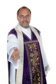 Priests are the hand — Stock Photo