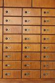 Numerowane szafki — Zdjęcie stockowe