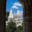 Hungary, budapest, fishermen's bastion. cityscape — Stock Photo