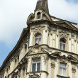 Stock Photo: Prague, beautifully renovated houses