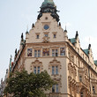 Stock Photo: Prague, beautifully renovated houses in old town