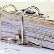 File folder with documents — Stock Photo #8291184
