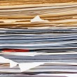 File folder with documents — Stock Photo #8291190