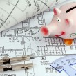 Blueprint of a house. construction - Stock Photo