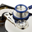 Data recovery hard disk of the computer — Stock Photo #8292005