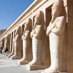 Egypt, western thebes, hatshepsut temple — Stock Photo #8292337