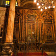 Egypt, cairo. mohammed ali mosque. the inside. — Stock Photo