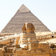 Egypt, giza, sphinx — Stock Photo