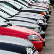 Used cars at auto dealers. used car trade — Stok Fotoğraf #8293000