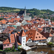 Cesky krumlov, czech republic. view of the city — Stock fotografie