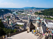 Paisaje urbano de austria, salzburgo — Foto de Stock