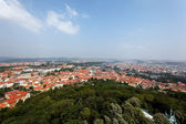 Prague, overview of the observatory from — Stock Photo