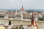 Hongarije, Boedapest, Parlement — Stockfoto