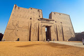 Egypt, edfu, horus temple — Stock Photo