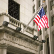 Stock Exchange in New YOrk, Wallstreet, USA — Stock Photo #8315193