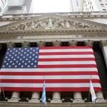 Usa, new york, wall street exchange — Stock Photo