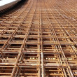 Stock Photo: Steel bars for reinforcing concrete