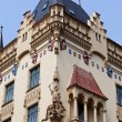 Prague, beautifully renovated houses n the old tow — Stock Photo #8318568