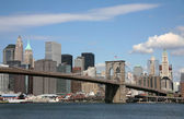Usa, amerika, new york, skyline en scycrapers — Stockfoto