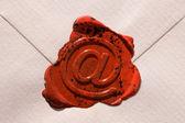 Envelope e-mail sign — Stock Photo