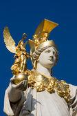 Austria, Vienna, Parliament, Pallas-Athene — Stock Photo