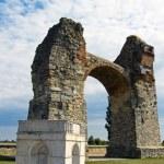 Heathens of ancient roman settlement carnuntum — Stock Photo #8321782