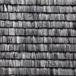 Old house with roof shingles - Stockfoto