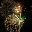 Fireworks on new year's eve and new year — Stock Photo #8326541